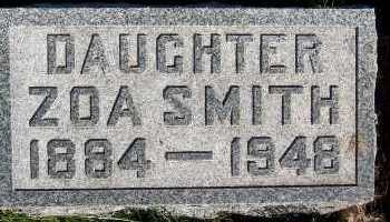 SMITH, ZOA - Sioux County, Iowa   ZOA SMITH