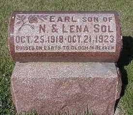 SOL, EARL - Sioux County, Iowa | EARL SOL