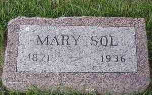 SOL, MARY - Sioux County, Iowa | MARY SOL