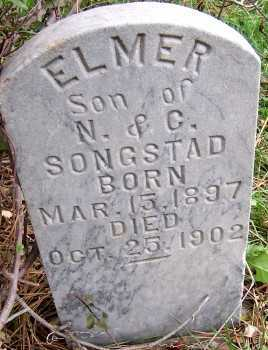 SONGSTAD, ELMER (SON OF N. & C.) - Sioux County, Iowa | ELMER (SON OF N. & C.) SONGSTAD