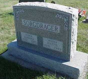 SORGDRAGER, HATTIE (MRS. EDWARD) - Sioux County, Iowa | HATTIE (MRS. EDWARD) SORGDRAGER