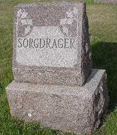 SORGDRAGER, HEADSTONE - Sioux County, Iowa | HEADSTONE SORGDRAGER
