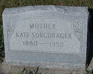 SORGDRAGER, KATE - Sioux County, Iowa | KATE SORGDRAGER
