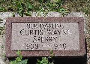 SPERRY, CURTIS WAYNE - Sioux County, Iowa | CURTIS WAYNE SPERRY