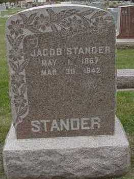 STANDER, JACOB - Sioux County, Iowa | JACOB STANDER
