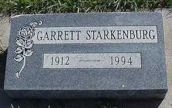 STARKENBURG, GARRETT - Sioux County, Iowa | GARRETT STARKENBURG