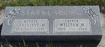 STARKENBURG, WILLIAM W. - Sioux County, Iowa | WILLIAM W. STARKENBURG