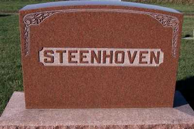 STEENHOVEN, FAMILY HEADSTONE - Sioux County, Iowa | FAMILY HEADSTONE STEENHOVEN