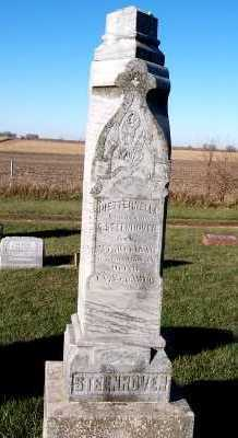 STEENHOVEN, PIETTERNELLA (MRS. A.) - Sioux County, Iowa   PIETTERNELLA (MRS. A.) STEENHOVEN