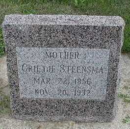 STEENSMA, GRIETJE - Sioux County, Iowa | GRIETJE STEENSMA