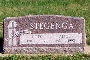 STEGENGA, ALICE - Sioux County, Iowa | ALICE STEGENGA
