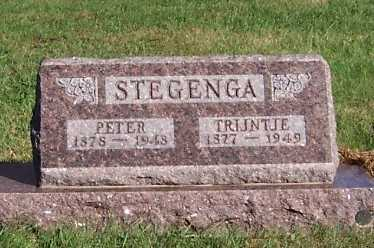 STEGENGA, PETER - Sioux County, Iowa | PETER STEGENGA