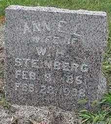 STEINBERG, ANNE L.  (MRS. W. H.) - Sioux County, Iowa   ANNE L.  (MRS. W. H.) STEINBERG
