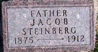 STEINBERG, JACOB - Sioux County, Iowa   JACOB STEINBERG