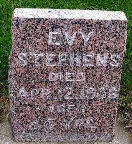 STEPHENS, EVY - Sioux County, Iowa | EVY STEPHENS