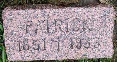 STEPHENS, PATRICK (1851-1930) - Sioux County, Iowa   PATRICK (1851-1930) STEPHENS