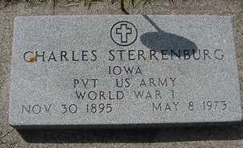 STERRENBURG, CHARLES - Sioux County, Iowa | CHARLES STERRENBURG