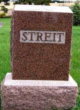STREIT, HEADSTONE - Sioux County, Iowa | HEADSTONE STREIT