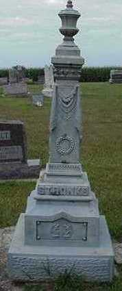 STRONKS, HEADSTONE - Sioux County, Iowa | HEADSTONE STRONKS