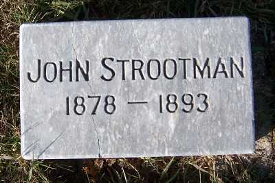 STROOTMAN, JOHN - Sioux County, Iowa | JOHN STROOTMAN