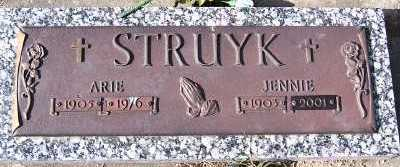 STRUYK, JENNIE - Sioux County, Iowa | JENNIE STRUYK