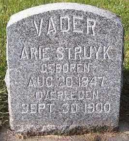 STRUYK, ARIE - Sioux County, Iowa | ARIE STRUYK