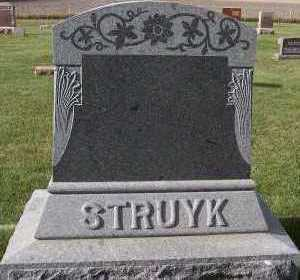 STRUYK, FAMILY HEADSTONE - Sioux County, Iowa | FAMILY HEADSTONE STRUYK