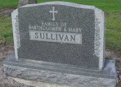SULLIVAN, MARY (MRS. BARTHOLEMEW) - Sioux County, Iowa | MARY (MRS. BARTHOLEMEW) SULLIVAN