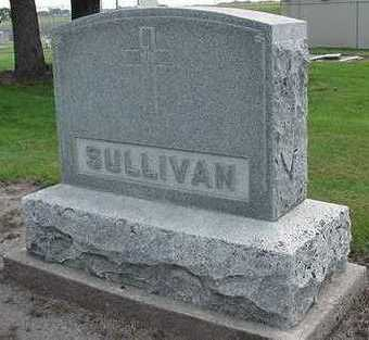 SULLIVAN, HEADSTONE - Sioux County, Iowa | HEADSTONE SULLIVAN
