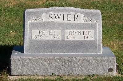 SWIER, PETER - Sioux County, Iowa | PETER SWIER