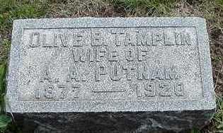 TAMPLIN, OLIVE B. - Sioux County, Iowa | OLIVE B. TAMPLIN