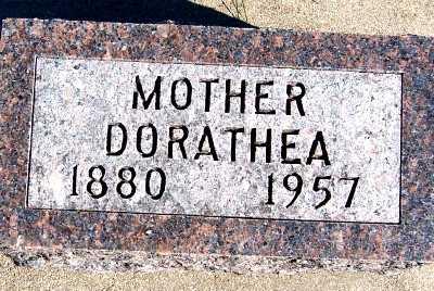 TANK, DORATHEA - Sioux County, Iowa | DORATHEA TANK
