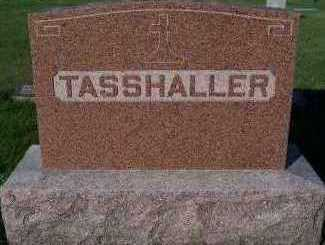 TASSHALLER, HEADSTONE - Sioux County, Iowa | HEADSTONE TASSHALLER