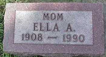 TECHEN, ELLA A. - Sioux County, Iowa | ELLA A. TECHEN