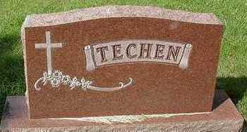 TECHEN, HEADSTONE - Sioux County, Iowa | HEADSTONE TECHEN