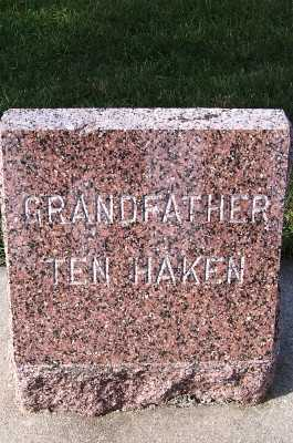 TENHAKEN, GRANDFATHER - Sioux County, Iowa | GRANDFATHER TENHAKEN