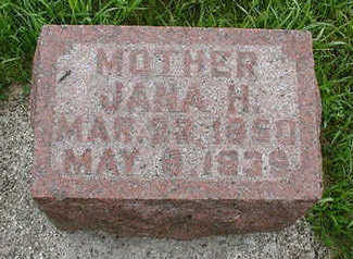 TEGROTENHUIS, JANA H. - Sioux County, Iowa | JANA H. TEGROTENHUIS