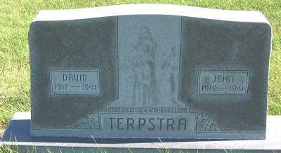 TERPSTRA, DAVID - Sioux County, Iowa | DAVID TERPSTRA