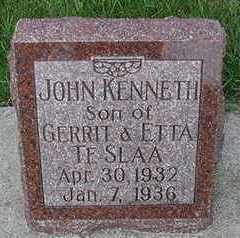 TESLAA, JOHN KENNETH - Sioux County, Iowa | JOHN KENNETH TESLAA