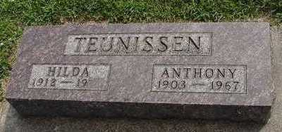 TEUNISSEN, ANTHONY - Sioux County, Iowa | ANTHONY TEUNISSEN