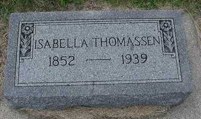 THOMASSEN, ISABELLE - Sioux County, Iowa | ISABELLE THOMASSEN