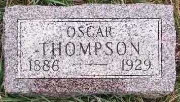 THOMPSON, OSCAR - Sioux County, Iowa | OSCAR THOMPSON