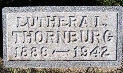 THORNBURG, LUTHERA L. - Sioux County, Iowa | LUTHERA L. THORNBURG