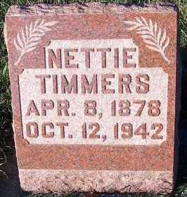 TIMMERS, NETTIE - Sioux County, Iowa | NETTIE TIMMERS