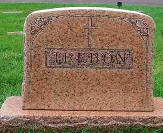 TREBON, HEADSTONE - Sioux County, Iowa | HEADSTONE TREBON