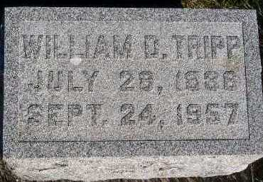 TRIPP, WILLIAM D. - Sioux County, Iowa | WILLIAM D. TRIPP