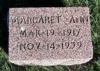 TUIJNMAN, MARGARET ANN - Sioux County, Iowa | MARGARET ANN TUIJNMAN