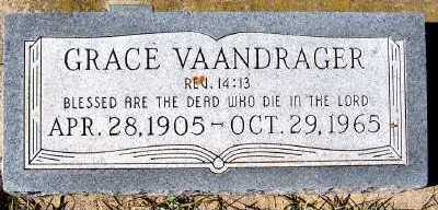 VAANDRAGER, GRACE - Sioux County, Iowa | GRACE VAANDRAGER