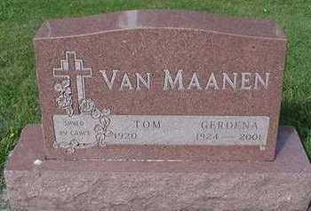 VAMMAANEN, TOM - Sioux County, Iowa | TOM VAMMAANEN
