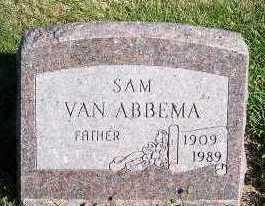 VANABBEMA, SAM - Sioux County, Iowa   SAM VANABBEMA